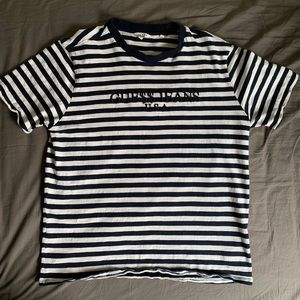 ASAP ROCKY GUESS STRIPED TEE